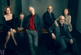 Vanity Fair Photo Editor Salman Rushdie Ian Mcewan And Martin Amis Recall Surviving The