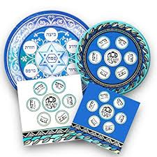 passover paper plates passover seder disposable dinnerware set passover