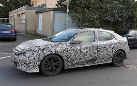 custom honda hatchback 2017 honda civic x hatchback spied testing in europe autoevolution