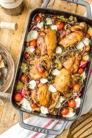 Mediterranean Style Chicken Recipe Balsamic Glazed Mediterranean Chicken Bake Aol Lifestyle