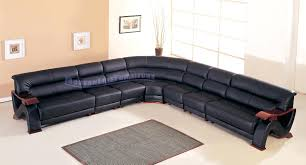 Brompton Leather Sofa Brompton Leather Sofa Image Of A Modern Black Over White