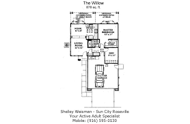 sun city roseville floor plans shelley weisman real estate