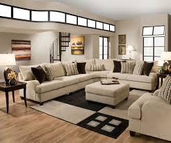 Microfiber Living Room Sets Furniture Simmons Sectional For Comfortable Seating U2014 Threestems Com