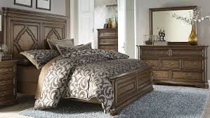 Master Bedroom During Everything Emelia by Amelia Antique Toffee Panel Bedroom Set From Liberty 487 Br Qpb