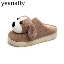 bedroom slippers winters shoes women indoor slippers warm plush ladies shoes home