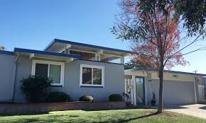 two story eichler two more sunnyvale eichler neighborhoods become single story