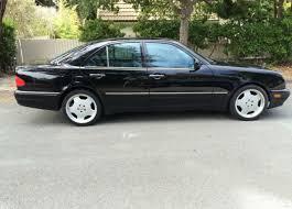1999 black mercedes 1999 mercedes e55 amg black monoblock wheels e320 e430 e 320 55
