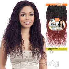 soul line pretwisted hair modelmodel synthetic hair crochet braids glance 3x wavy feathered