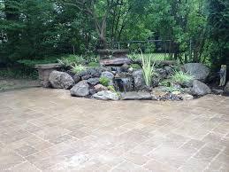 Rock Garden Features Landscape Garden Design Waterfalls Water Feature Patio Sitting