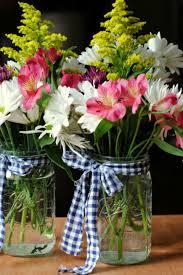 jar flower arrangements 13 pretty jar flower arrangements best floral centerpieces