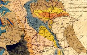 York England Map by Geological Map Of England Wales And Part Of Scotland C1836 By J