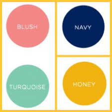 close to the color scheme i want for living room gold navy