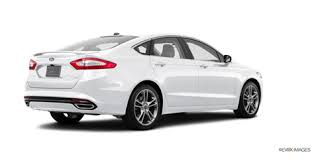 ford fusion titanium 2015 2016 ford fusion titanium comparison kelley blue book