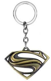 gold color superman logo metal keychain review buy cairo