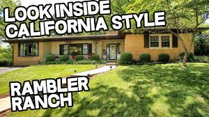 california ranch rambler rancher american ranch style house