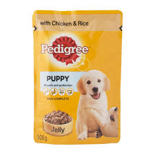 pedigree chicken with rice jelly dog food 100g woolworths co za