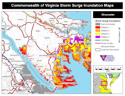 Map Of Virginia Beach Hurricane Storm Surge Maps Virginia Department Of Emergency