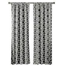 Grey And White Curtain Panels Creative Home Ideas Curtains U0026 Drapes Window Treatments The