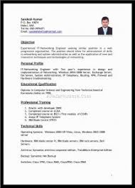 Best Resume Format For Freshers by Free Resume Templates 87 Fascinating Great Best Format Network