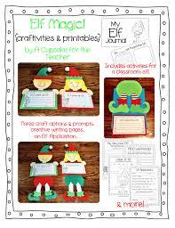 elf writing paper november 2013 a cupcake for the teacher
