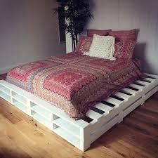 Split Bed Frame Standard Split Bed Frame With Overhang White Pallet West