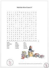 matilda timeline worksheet roald dahl stories time line
