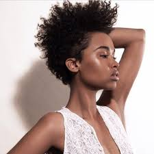 curly tapered afro women tapered fro my hair lay like pinterest tapered afro