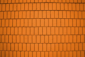 orange wall bright orange brick wall texture with vertical bricks picture free