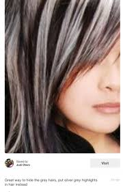 doing low lights on gray hair 8 best grey hair images on pinterest grey hair short hair and