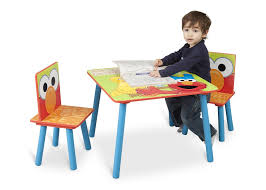 Table And Chair Sets Sesame Street Table U0026 Chair Set Delta Children U0027s Products
