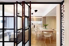cloison vitree cuisine cloison vitre cuisine une cuisine blanche qui a de verrire