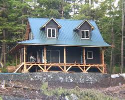 cabin plans with porch 20 wide 1 1 2 story cottage in alaska
