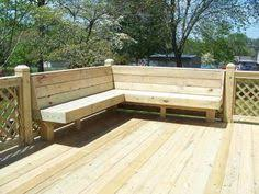 how to build deck bench seating perimeter bench seating on deck love this remodeling ideas
