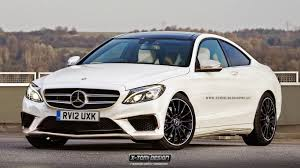 mercedes amg c class 2015 mercedes c class coupe and s63 amg coupe rendered gtspirit