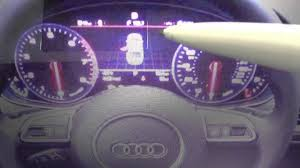 audi a6 c7 dashboard warning light symbols guide what they mean