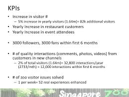 Zoo Increases Sales And Enhances Singapore Zoo