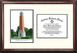 of alabama diploma frame of alabama tuscaloosa academic scholarexquisitely framed imprinted