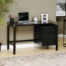 furniture sauder computer desks black corner desk with hutch