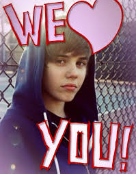 groupcard card for justin bieber