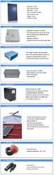 high power 5 kilo watt home solar panel kit off grid tie system