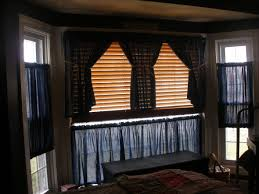 bay window curtain ideas trendy images about window treatments on