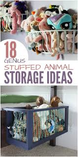 Diy Toy Storage Ideas 25 Best Stuffed Toy Storage Ideas On Pinterest Stuff Animal