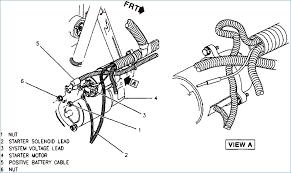 chevy starter motor wiring wiring diagram