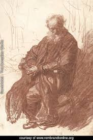An Armchair Rembrandt The Complete Works Old Man Seated In An Armchair