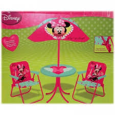 minnie mouse table set minnie children s patio set from kids only folding chairs patios