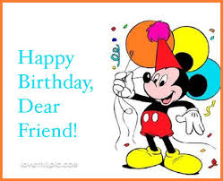 Disney Birthday Meme - mickey mouse happy birthday friend quote pictures photos and