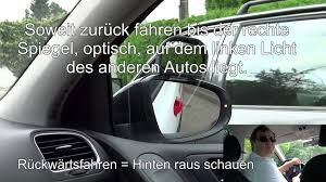 B Otisch Führerscheinprüfung Grundfahraufgabe Parken Längs Klasse B Youtube