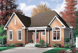 brick homes plans economical 2 bedroom brick house plan 21213dr architectural