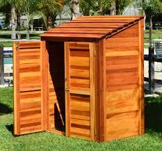 storage sheds custom made redwood sheds