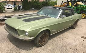 ford mustang convertible 1968 poor pony 1968 ford mustang convertible